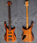 WB electric bass guitar
